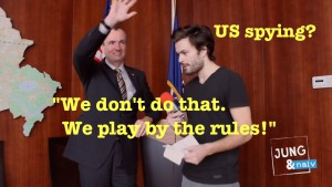 "US-Überwachung? ""We don't do that. We play by the rules!"""