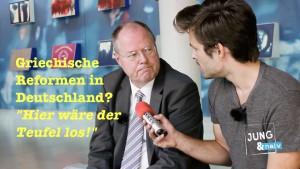 Was würde passieren, wenn in Deutschland Reformen wie in Griechenland umgesetzt werden?