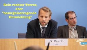 """Kein rechter Terror, aber eine """"besorgniserregende Entwicklung"""""""