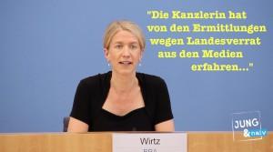 Landesverrat: Wann wusste die Kanzlerin von den Ermittlungen?