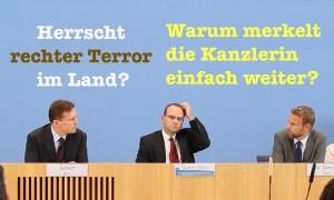 Rechter Terror im Land: Warum merkelt die Kanzlerin weiter vor sich hin?