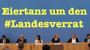 Return of the Eiertanz: Viele naive Fragen zum #Landesverrat