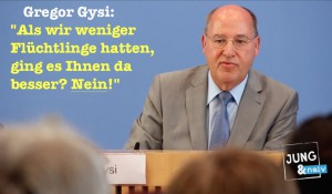 Gysi & ein Bürger, der nicht für andere verantwortlich sein möchte…