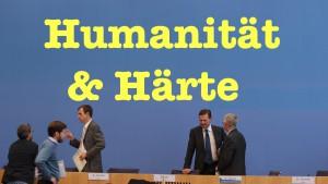Naive Fragen zu Flüchtlingen, Asylverschärfung, Barenboim & Zusammenhängen