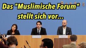 """Das """"Muslimische Forum"""" stellt sich vor – BPK vom 2. Oktober 2015"""