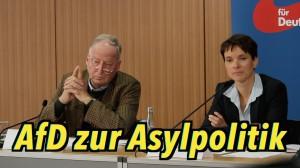 Die AfD zur Asylpolitik – Komplette PK vom 9. Oktober 2015