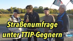 Komplett: Kurze Gespräche mit TTIP-Gegnern