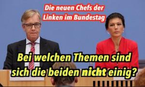Sahra Wagenknecht & Dietmar Bartsch antworten wie Regierungssprecher
