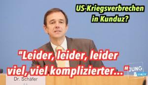 """US-Kriegsverbrechen in Kunduz? Bundesregierung: """"Es ist kompliziert…"""""""