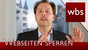 BGH: Access Provider müssen zukünftig Webseiten sperren! | Rechtsanwalt Christian Solmecke
