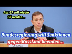 Bundesregierung will Sanktionen gegen Russland beenden
