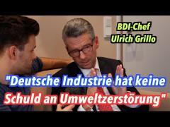 """Die deutsche Industrie hat """"überhaupt keine Schuld"""" an Umweltzerstörung"""
