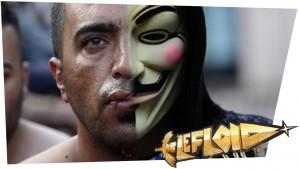 Mund zunähen als Demonstration // Anonymous-Viagra-Attacke auf IS [#LeNEWS]