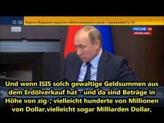 Putin: Die Türkei und die Terroristen
