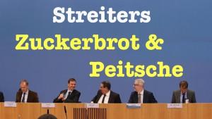 Streiters Zuckerbrot & Peitsche – BPK vom 23. November 2015