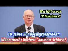 Wann macht Norbert Lammert Schluss?