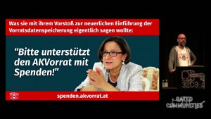 Österreich: Der Kampf gegen unkontrollierte Massenüberwachung [32c3]