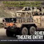 Britische Militärübung in Jordanien als Simulation eines Krieges gegen Russland