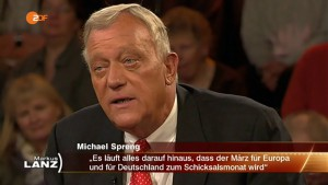 Der Schicksalsmontat März 2016 – Michael Spreng bei Markus Lanz 02.02.2016 – Bananenrepublik