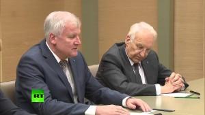 Horst Seehofer und Edmund Stoiber CSU bei Wladimir Putin 03.02.2016 – Bananenrepublik