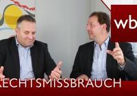 Interview: Rechtsmissbrauch: 43 Abmahnungen in 7 Tagen | Im Interview mit Dr. Carsten Föhlisch