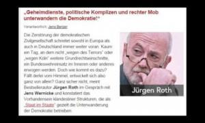 Jürgen Roth: Geheimdienste, politische Komplizen und rechter Mob (Nachdenkseiten)