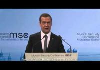 Medwedew 13.02.2016 – München Sicherheitskonferenz