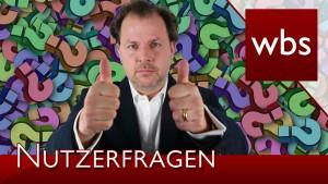 Nutzerfragen: YouTube & GEMA, Impressum und Sekten | Rechtsanwalt Christian Solmecke