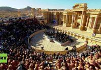 Ein Gebet für Palmyra – Waleri Gergijews Symphoniekonzert für die befreite Oasenstadt – komplett