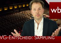 Sampling: Bundesverfassungsgericht kippt Urteil der Vorinstanzen | Rechtsanwalt Christian Solmecke
