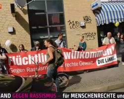 #Berlin: 10.000 protest against #Racism & #Xenophobia #antiwar #HandInHand (June19, 2016)