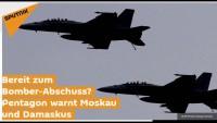 Bereit zum Bomber-Abschuss? Pentagon warnt Moskau und Damaskus (sputniknews)