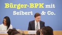 Bürger-BPK mit den Regierungssprechern – Komplett vom Tag der offenen Tür, 28. August 2016