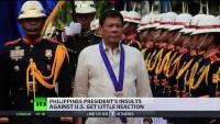 Philippinischer Präsident Rodrigo Duterte legt sich mit UN und USA an