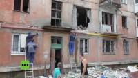 Ukraine: Frau nach Beschuss auf Wohngebiet durch ukrainische Truppen in Gorlowka getötet