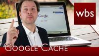 Unterlassungserklärung und Google Cache | Rechtsanwalt Christian Solmecke