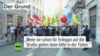 Versuch einer Anti-Erdogan-Demo in Wien