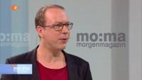 """ZDF Morgenmagazin: Beckedahl  """"Sicherheit – ja oder nein""""?"""