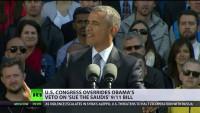 9/11: US-Kongress überstimmt Obama und ermöglicht Klagen gegen Saudi-Arabien