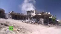 Aleppo: Syrisch Arabische Armee beginnt mit Räumung von Minen und Bomben in befreiten Gebieten
