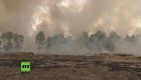 Brandenburg: 100 Kilogramm schwere Phosphorbombe detoniert und löst Großbrand in Wittstock aus