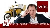 Darf ich wenn mir der Führerschein entzogen wurde Mofa fahren? | Rechtsanwalt Christian Solmecke