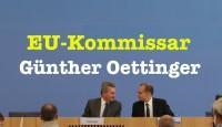 EU-Kommissar Günther Oettinger in der Bundespressekonferenz – Komplett vom 26. September 2016