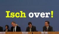 Isch over! – Sehenswerte Bundespressekonferenz vom 28. September 2016