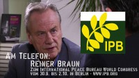 KenFM am Telefon: Reiner Braun zum International Peace Bureau World Congress 2016