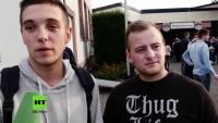 Proteste gegen Frauke Petry und AfD-Veranstaltung in Rheinland-Pfalz