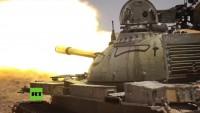 Syrien: Großoffensive gestartet – Syrisch Arabische Armee erobert Gebiet vom IS in Homs zurück