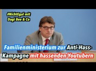 """Warum unterstützt Familienministerium """"Anti-Hass""""-Kampagne mit fragwürdigen Youtubern wie DagiBee?"""