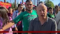 BBC; berichtet über Syrer, die sich bei Russland und Präsident Putin bedanken