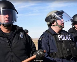 Dakota Pipeline Protest & Arrests At Standing Rock – Columbus Day 10/10/2016